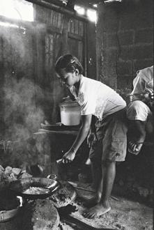 Scène de cuisine, Baucau.