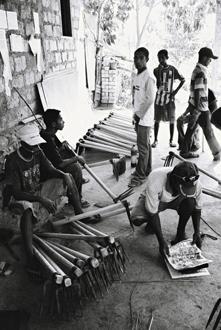Atelier des forgerons du CDC, Baucau.