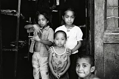 Enfants de Baucau.