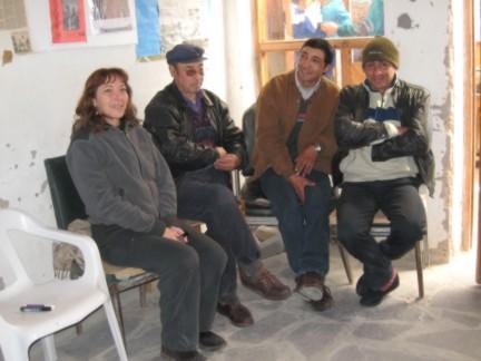Laura Ramos et les membres du CAI